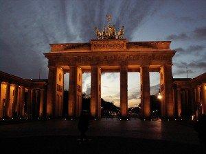 Berlin (Région et Capital) dans Die deutschen Bundesländer (les régions d'Allemagne) Brandenburg_Gate_III-300x225