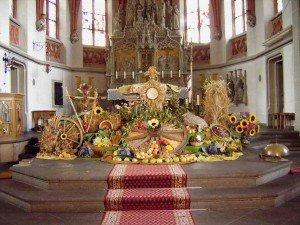 Erntedankfest (Fête des moissons) dans Brauchtum (les coutumes) Erntedank-300x225