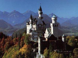 Bayern (Bavière) dans Die deutschen Bundesländer (les régions d'Allemagne) schloss-neuschwanstein-300x225
